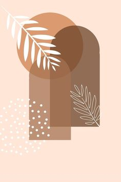 Phone Wallpaper Boho, Abstract Iphone Wallpaper, Cute Wallpaper Backgrounds, Minimalist Wallpaper, Minimalist Art, Abstract Line Art, Abstract Shapes, Illustration Art, Illustrations