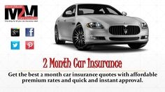 Two Month Auto Insurance