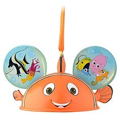 Limited Edition Ear Hat Finding Nemo Ornament