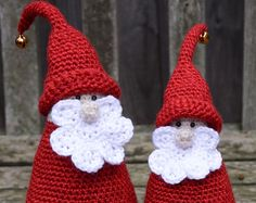 Christmas Gnome Crochet Pattern