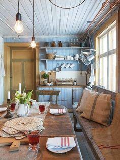 décoration cuisine rustique authentique