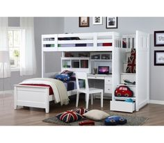 Harbour Super Single Loft  Bunk Bed
