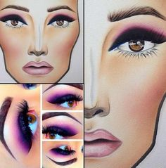 I love this face chart