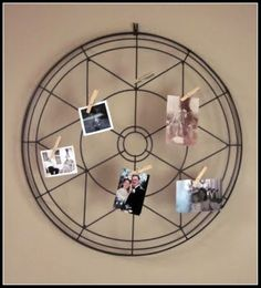 fan cover photo display (part of an old fan)!!!