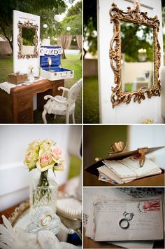 oh!myWedding: Estilo Shabby Chic para la decoración de la boda / Shabby Chic Weddings