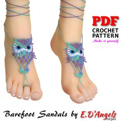Crochet Pattern Barefoot Sandals Pattern Barefoot Pattern Source by suemackliff Crochet Shoes, Crochet Slippers, Barefoot Sandals Crochet, Crochet Thread Size 10, Barefoot Beach, Barefoot Wedding, Puffy Paint, Bare Foot Sandals, Crochet Patterns