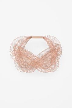 Mesh tube bracelet cos