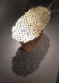 Beautiful table by architect and designer George Mohasseb (limited edition of 12)