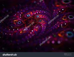 Jewelry Macro Flower   Background - Fractal Art