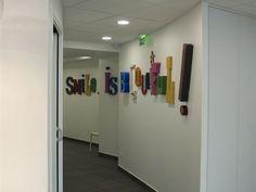 dentiste paris couloir du cabinet