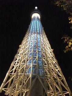 "Tokyo Sky Tree Lightup ""IKI"" / 2012.6.30"