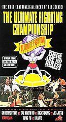 The Ultimate Fighting Championship Ufc 1994 vhs Tape Works Great