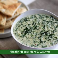 Healthy Holiday Hors D'Oeuvres
