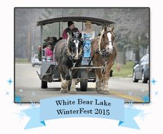 Queen Elise takes the reigns at Winterfest in Downtown White Bear Lake. www.twincitiespartyprincess.com