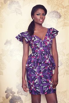 Flora Fuana Collection From Ghanaian Fashion Brand Sika Designs African Inspired Fashion, African Print Fashion, Africa Fashion, Fashion Prints, Fashion Design, Fashion Styles, Fashion Brand, African Dresses For Women, African Attire