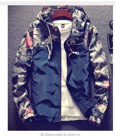 bd3684c51da Grandwish Floral Bomber Jacket Men Hip Hop Slim Fit Flowers Pilot Bomber Jacket  Coat Men s Hooded Jackets Plus Size 4XL
