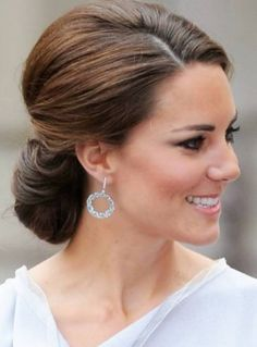 Kate Middleton Updo Hairstyles For Summer
