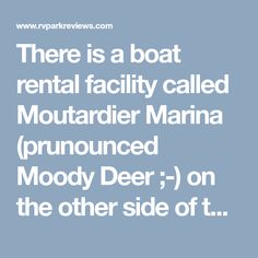 There is a boat rental facility called Moutardier Marina (prunounced Moody Deer ;-) on the other side of the lake that is very affordable for pontoon rental and is about a 20/25 minute drive from the campground. There are also a handful of little country diners on that route. For the quality of the site, with waterfront view and access, with W/E hookup for under $30/night, clean facilities and nice folks, we think Nolin Lake is hard to beat. We camped at Nolin Lake State Park in a Travel…