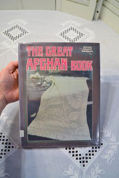 The Great Afghan Book Instructional DIY American by PanchosPorch