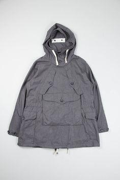 Heather Grey Oxford Over Parka | Engineered Garments