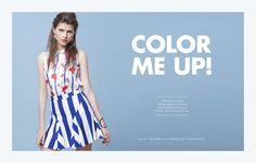 Editorial Color Me Up!