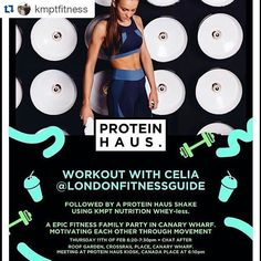 Who's up for an amazing opportunity in the heart of Canary Wharf then?   Come and join the team for an epic high intensity session!!!! I'll be there along with a whole host of brilliant trainers  #Repost @kmptfitness with @repostapp   SPECIAL EVENT  I'm going back to back with @londonfitnessguide and MRS @kmptfitness the @theldnyogi to bring you THE ULTIMATE SWEAT SESSION! A heated HIIT session and a yoga style cool down  Followed by @kmptnutrition post work out shakes made by @proteinhausuk…