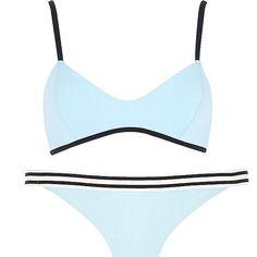 Suits Under $60: River Island Light Blue Bikini