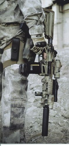 AR-15 all decked out