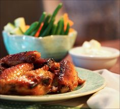 Sticky Sweet Garlic & Soy Chicken Wings - Fructose Free