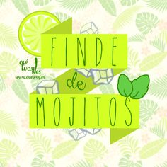 Prepara el Mojito perfecto para el fin de semana, te decimos como hacerlo en nuestro blog: http://blog.queway.es/prepara-el-mojito-perfecto/
