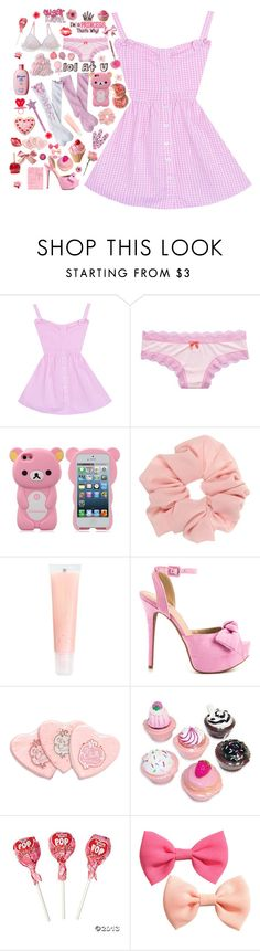 """""""♡BIG ANNOUNCEMENT♡ plz read description"""" by suzyloves17 ❤ liked on Polyvore featuring Aerie, Circo, J.Crew, JustFab, Etude House, Hello Kitty and H&M"""