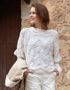 Book Woman Basics 11 Autumn / Winter | 1: Woman Sweater | White