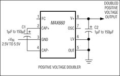 Inverter or voltage doubler? can be configured as a voltage doubler or a voltage inverter and is capable of providing of current. Voltage Converter, Thing 1, Pump, Floor Plans, Positivity, Electronics, Learning, Studying, Pump Shoes