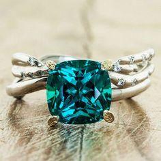 Shonnabella Unique Jewelry I Love Tiffany Rings Dk