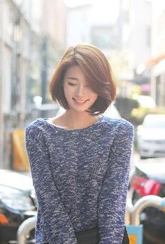 59 Ideas for hair short styles korean bob Haircuts For Long Hair, Short Hairstyles For Women, Trendy Hairstyles, Girl Hairstyles, Short Haircuts, Asian Haircut Short, Haircut Medium, Bob Hairstyle, Medium Hair Cuts