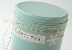 Upscale old tins rather than tossing them