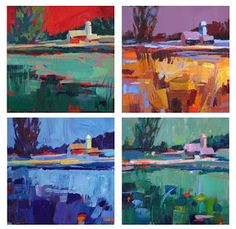 A Painting a Day by Patti Mollica: Painting Demos