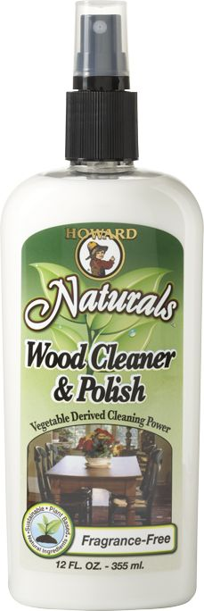 Chemical free, all natural wood cleaner