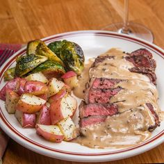French Pepper Steak (Steak au Poivre)