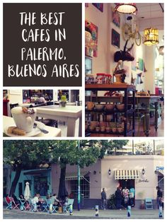 A short guide to the top ten best cafes in Palermo in Buenos Aires. The perfect stops for tea and cake. Food travel in Buenos Aires, Argentina. Brazil Argentina, Visit Argentina, Argentina Travel, Argentina Food, Palermo, South America Destinations, South America Travel, North America, Cool Cafe