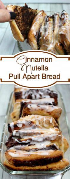 Cinnamon nutella pul