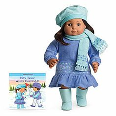 American Girl® : Fair Isle Dress Outfit for Dolls + Book