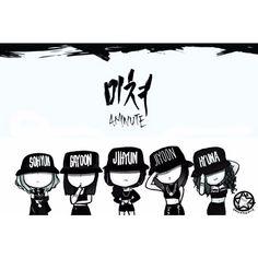 Dis is so cute!! #4minute #Sohyun #Gayoon #Jihyun #Jiyoon #Hyuna #vovcyan