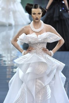 Christian Dior at Couture Fall 2008 - StyleBistro