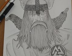 "Check out new work on my @Behance portfolio: ""Odin"" http://be.net/gallery/44253447/Odin"