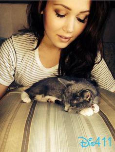 Photo: Kelli Berglund With Her New Kitten October 25, 2014