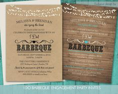 RSVP postcard can be added.. I Do BBQ Shower Invitation  Wedding Reception by NotedOccasions, $48.00