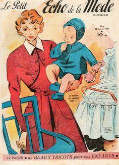revue le petit ECHO DE LA MODE n°4 du 22 janvier 1950