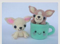 Stuffed pups n cups