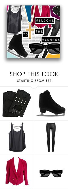 """""""YOI Yurio EX (WttM) Outfit"""" by scifikimmi ❤ liked on Polyvore featuring Karl Lagerfeld, Kavu, Rick Owens, Sun Buddies, Saks Fifth Avenue, men's fashion and menswear"""